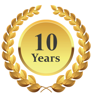 Celebrating 10 years of continued cleaning services ...