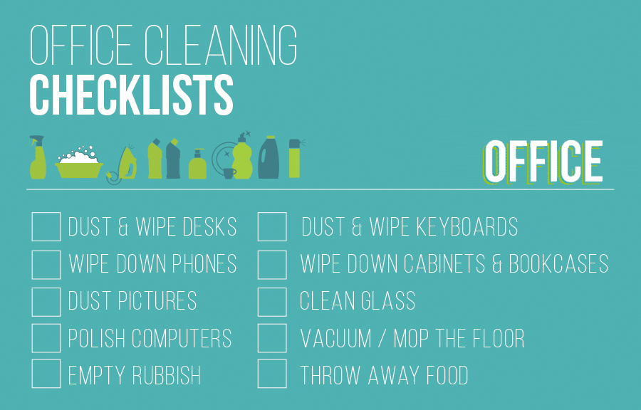 Office Cleaning Checklist Servicemaster Swansea